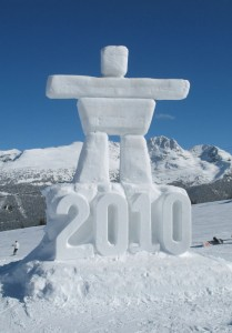 Winter olympics in Vancouver Whistler Canada
