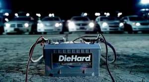 Sears Brand car battery